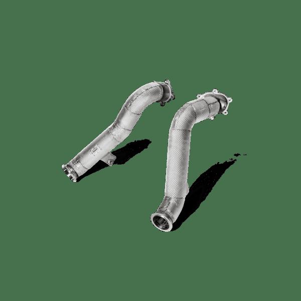 Akrapovic Downpipe Set (SS) Audi RS6 Avant C7