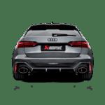 Akrapovic Evolution Line (Titanium) RS 6 Avant (C8)/RS 7 Sportback (C8)