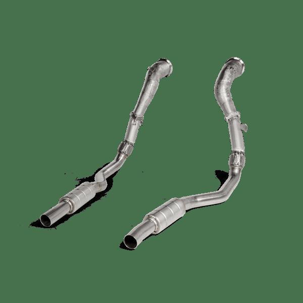 Akrapovic Downpipe / Link pipe set (SS) RS 6 AVANT (C8)/RS 7 SPORTBACK (C8)