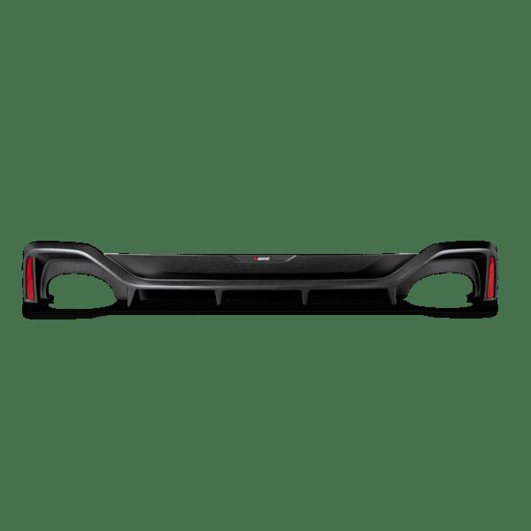 Akrapovic Rear Carbon Fiber Diffuser - Matte