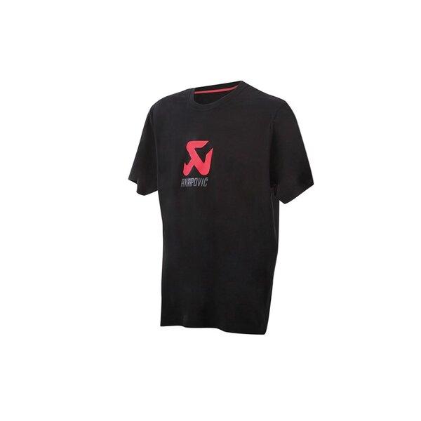Черна Тениска с логото на Akrapovic