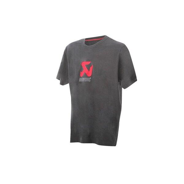 Сива тениска с логото на Akrapovic