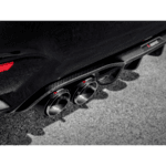 Akrapovic Rear Carbon Fiber Diffuser - High Gloss