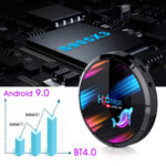 H96 max 4GB RAM Android 9