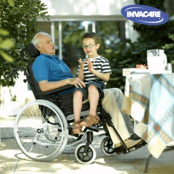 Пасивна рингова инвалидна количка Invacare Rea Clematis