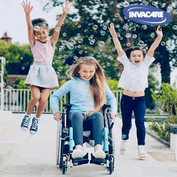 Детска рингова инвалидна количка Invacare Action 3 Junior