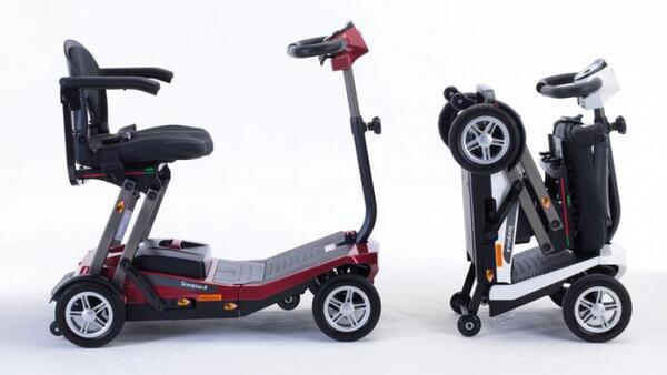 Електрически скутер Invacare Scorpius-A