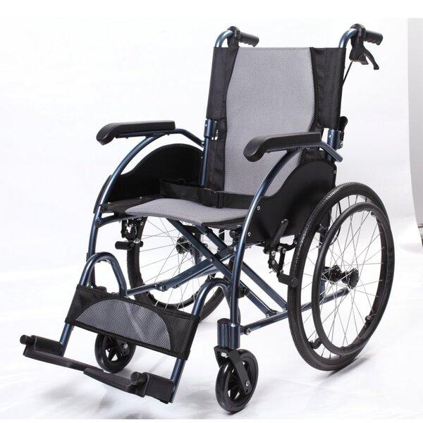 Рингова инвалидна количка с ръчни спирачки - Classic Aluminium