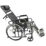 Рингова инвалидна количка с накланяща се облегалка