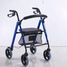 Ролатор с регулируема седалка и спирачки