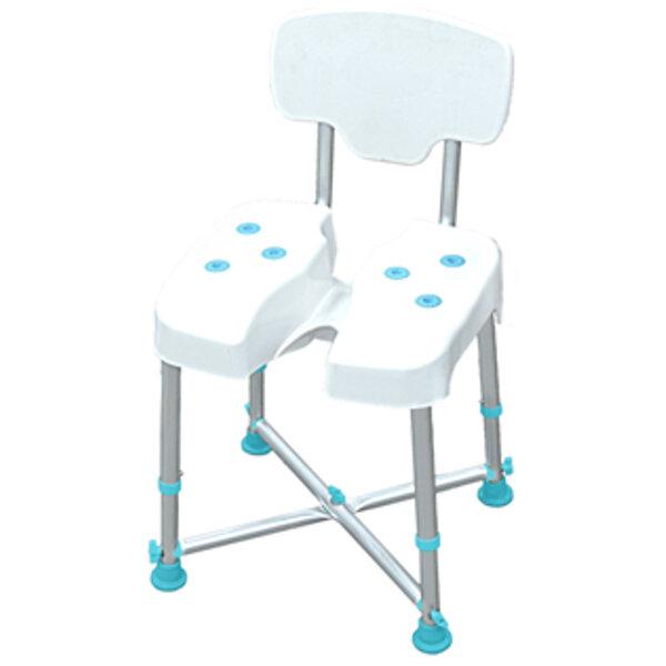XL Стол за баня с регулируема височина - XL Adjustable