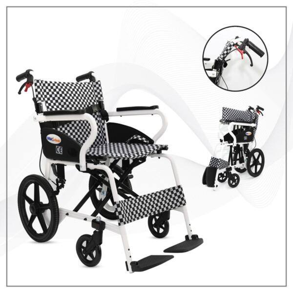 Транспортна количка с алуминиева рамка