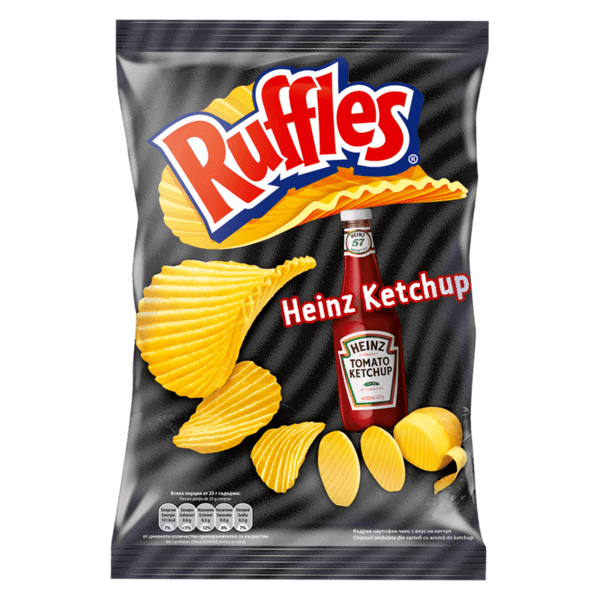 Чипс RUFFLES кетчуп 155 г