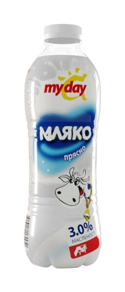 Прясно мляко MY DAY 3% 1 л