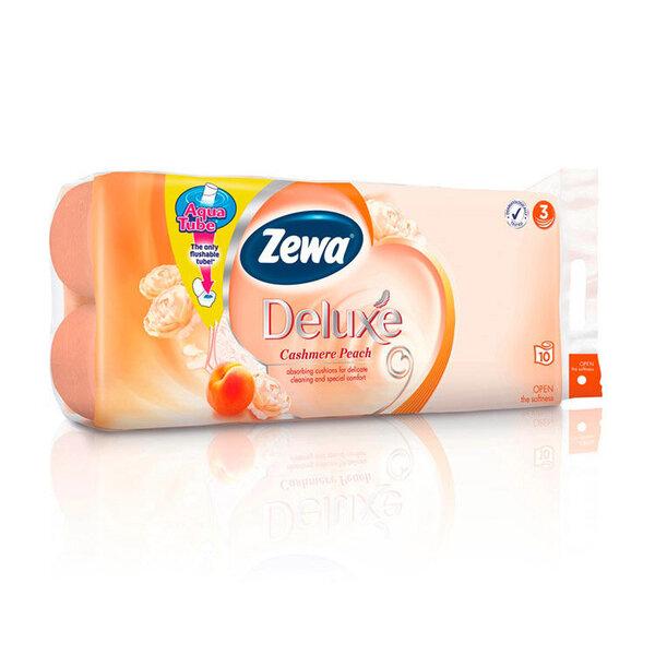 Тоалетна хартия ZEWA Deluxe Peach трипластова 10 бp.