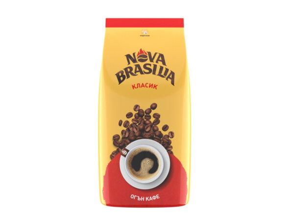Кафе на зърна Nova Brasilia Класик 1 кг