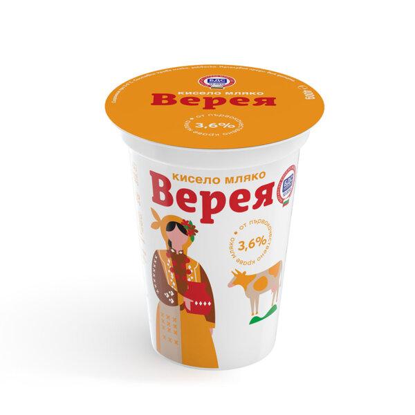 Кисело мляко ВЕРЕЯ 3.6% 400 г