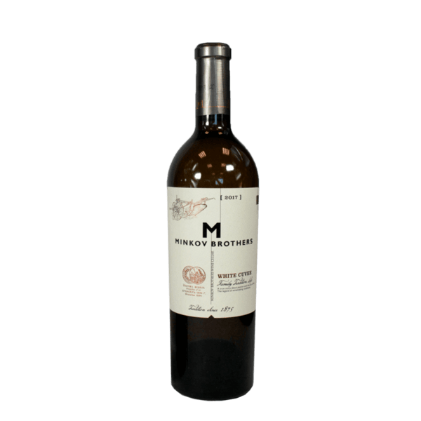 Вино MINKOV BROTHERS Бяло Кюве 750 мл