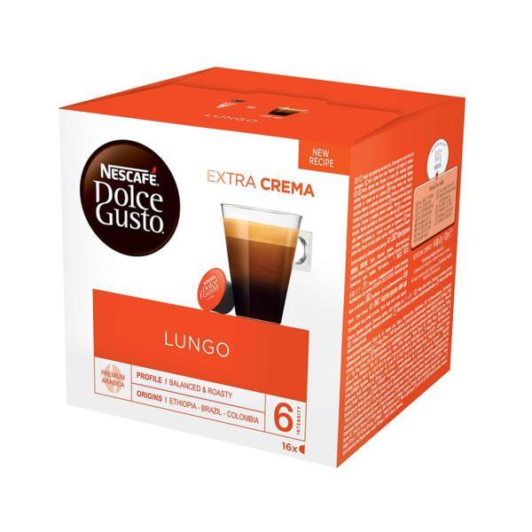 NESCAFÉ® Dolce Gusto® Lungo кафе капсули, 16 напитки