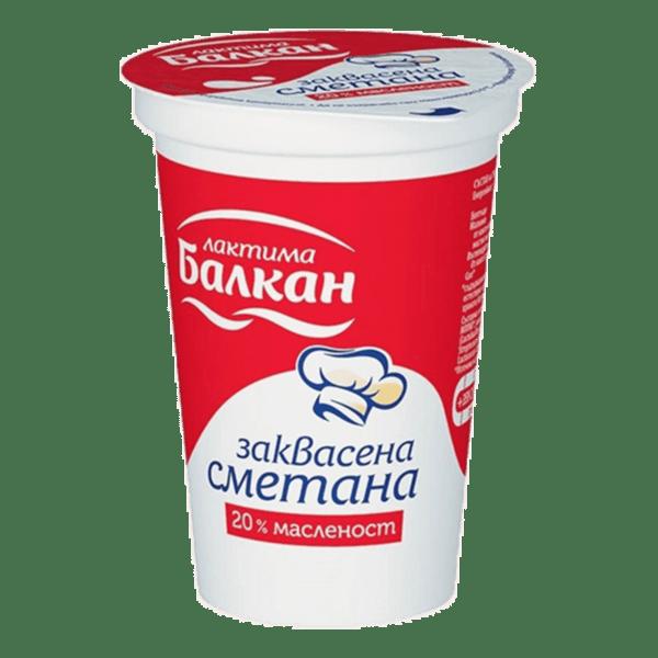 Заквасена сметана БАЛКАН 400 г