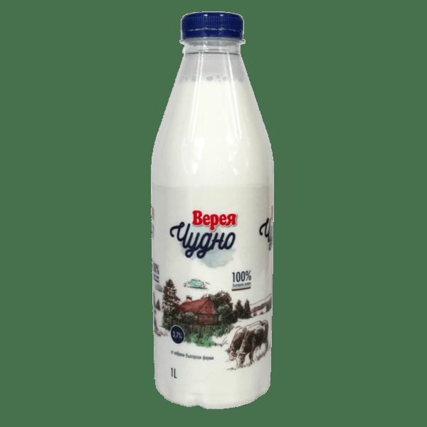 Прясно мляко ВЕРЕЯ Чудно 3.7% 1 л