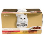 Хапки за котки GOURMET GOLD 4x85 г
