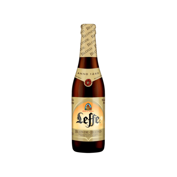 Бира LEFFE blond 6.6% ow бутилка 330мл