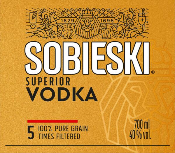 Водка SOBIESKI Superior 40% 700 мл