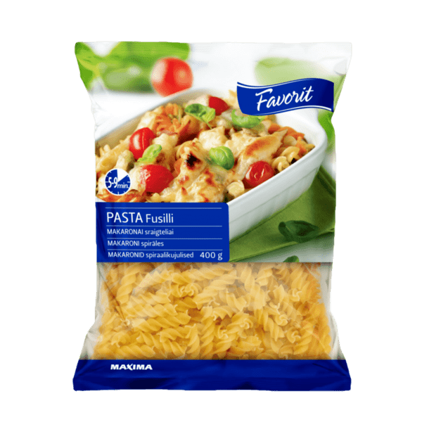 Макарони FAVORIT Fusilli 400 г