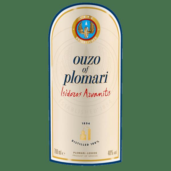 Узо PLOMARI40% 700 мл