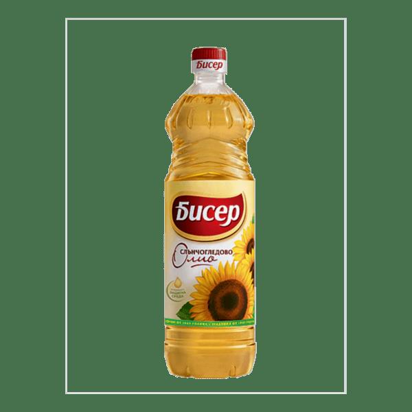 Олио БИСЕР слънчогледово 1л