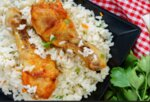 Пиле с ориз