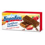 Бисквити БОРОВЕЦ тунквани с ягода 216 г