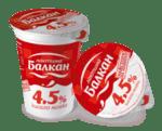 Кисело мляко БАЛКАН 4,5% 400 г