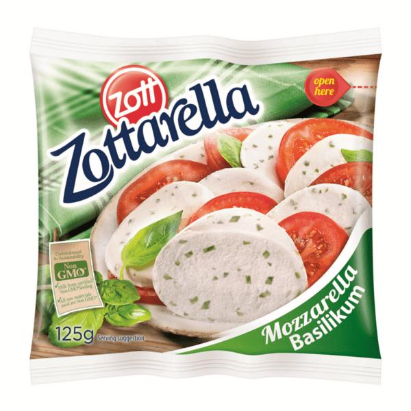 Моцарела ZOTT Босилек 125 г