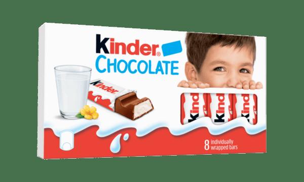 Шоколад KINDER Т8 100 г