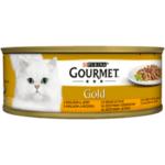 Пастет за котки GOURMET GOLD заек, дроб 85 г