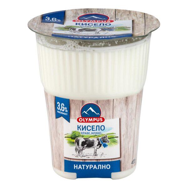 Кисело мляко OLYMPUS 3.6%, 400 г
