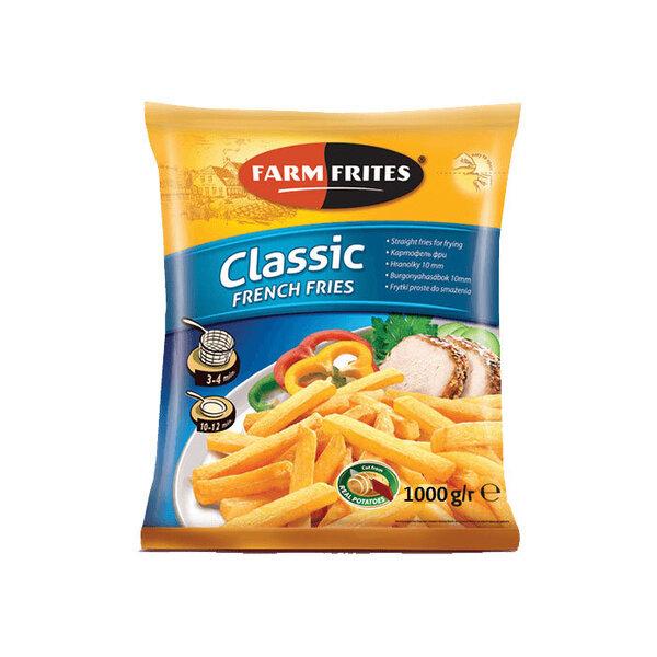 Замразени картофи FARM FRITES 10/10 1кг