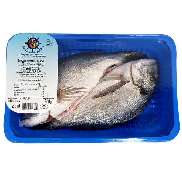 Риба Ципура чистена охладена МАП кг, охладена