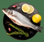 Риба Лаврак чистен на кг