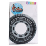 Надуваем пояс - автомобилна гума INTEX 91 см