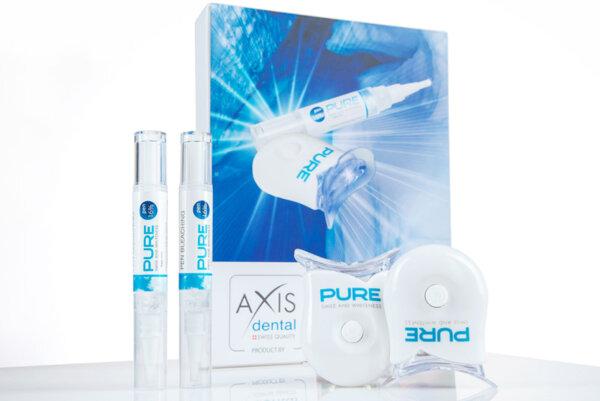Домашна избелваща система за зъби PURE с LED лампа - комплект 2 броя