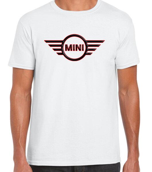 Mini logo / CAR 20 - мъжка тениска бяла