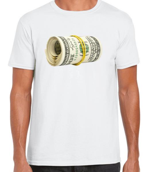 Dollars / FUN 23 - мъжка тениска бяла