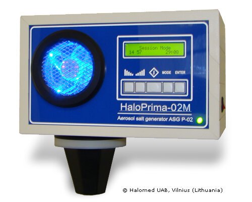 "Халогенератор ""HaloPrima-02M"" Halomed"