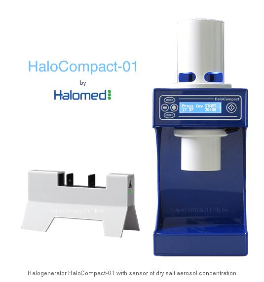 "Халогенератор ""HaloCompact-01"" Halomed"
