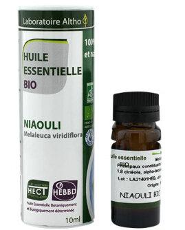 Етерично масло от НИАУЛИ БИО - Melaleuca Viridiflora, 10 ml