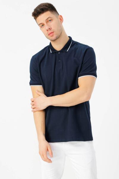 Тениска с къс ръкав Поло яка