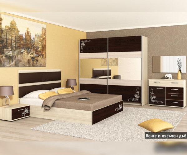 Спален комплект Карла 160X200 в 2 цвята